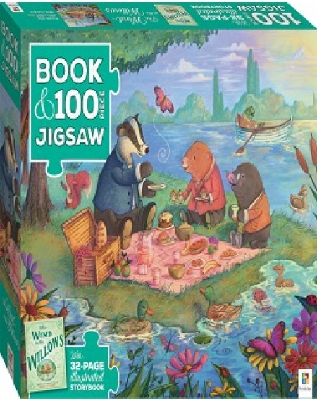 Book & Jigsaw Puzzle: Wind In The Willows