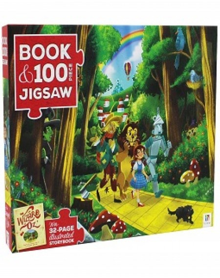 Book & Jigsaw Puzzle: Wizard Of Oz