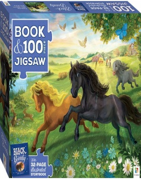 Black Beauty Picture Book & Jigsaw Puzzle