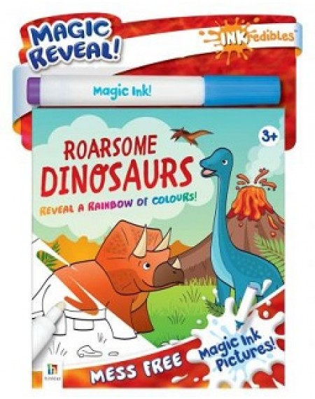 Inkredibles Magic Ink Pictures  Roarsome Dinosaurs