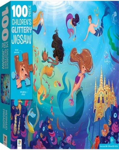 100 Piece Children's Jigsaw : Mermaids