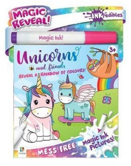 Inkredibles Magic Ink Pictures : Unicorns And Friends