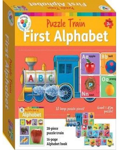 Building Blocks Puzzle Train: ABC (2020 Ed)