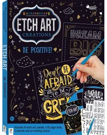 Etch Art Creations Kit: Be Positive!