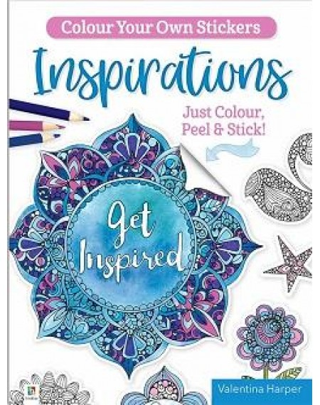 Colour Your Own Stickers: Inspirations