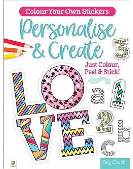 Colour Your Own Stickers: Personalise & Create