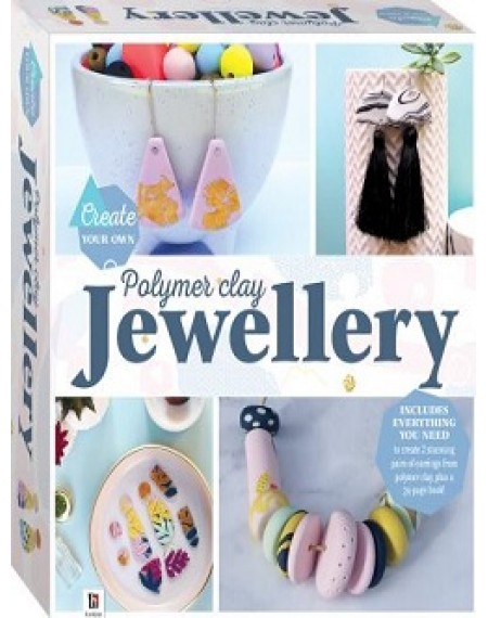 Create Your Own Polymer Clay Jewellery Box Set (2020 ed)
