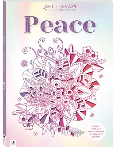 Art Therapy Mindful Colouring: Peace