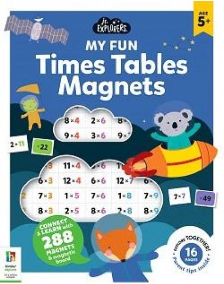 Junior Explorers Magnetic Books: Times Tables
