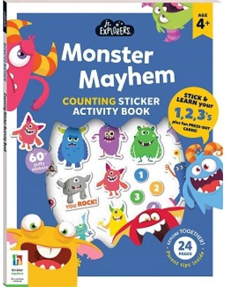 Junior Explorers: Monster Mayhem Counting Activity Book