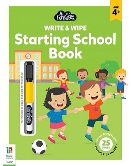 Junior Explorers Write and Wipe: Starting School