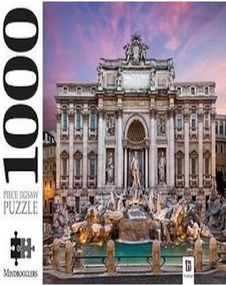 1000 Piece Jigsaw Trevi Fountain