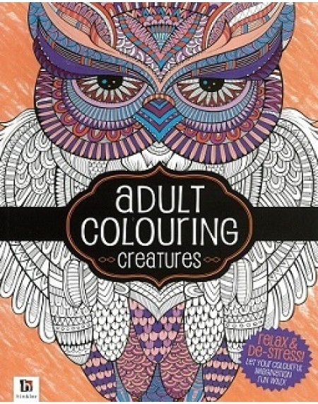 Adult Colouring : Creatures