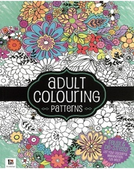 Adult Colouring : Patterns
