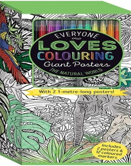 Colouring Poster Box: The Natural World (UK)