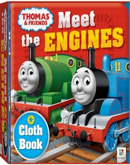 Cloth Book Meet the Engines (Thomas and Friends)