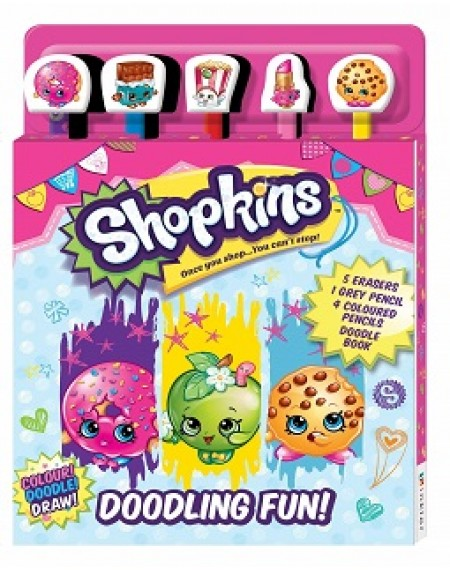 5-Pencil Sets - Shopkins