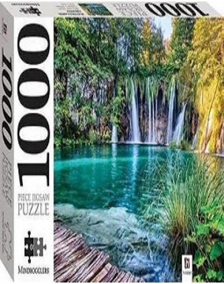 100 Piece Jigsaw Puzzle: Plitvice Lakes, Croatia