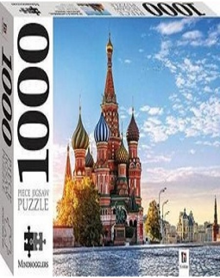 St Basil's Cathedral, Moscow, Russia 1000 piece jigsaw