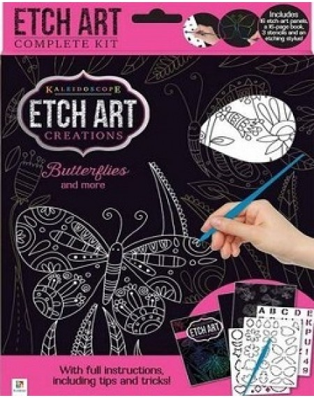Etch Art Mini Kit: Butterflies and More