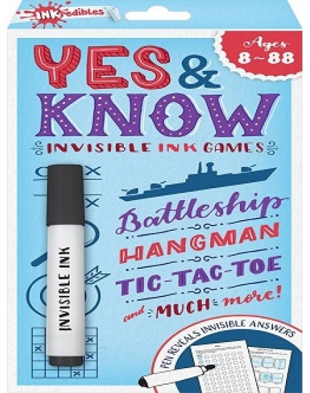 Inkredibles Yes & Know 8-88 (2020 Ed)