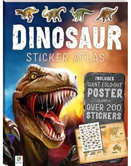 Dinosaurs Sticker Atlas