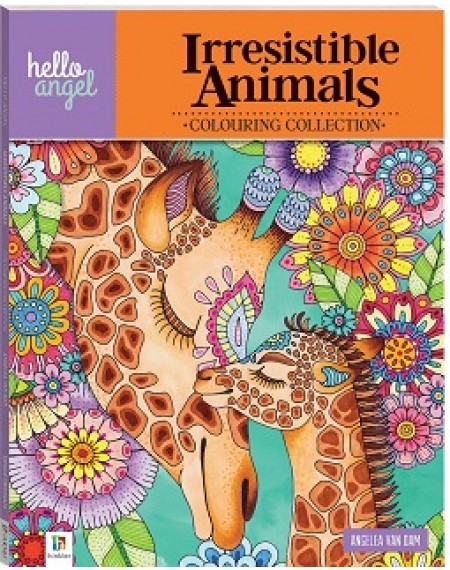 Hello Angel Irresistible Animals Colouring Collection Series 2