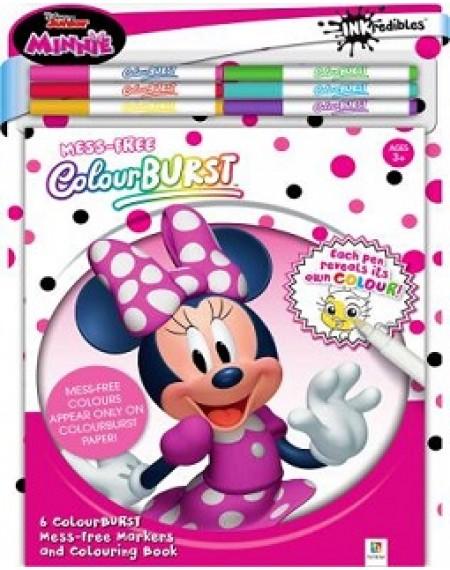Colour Burst Disney Minnie Mouse Colouring Kit