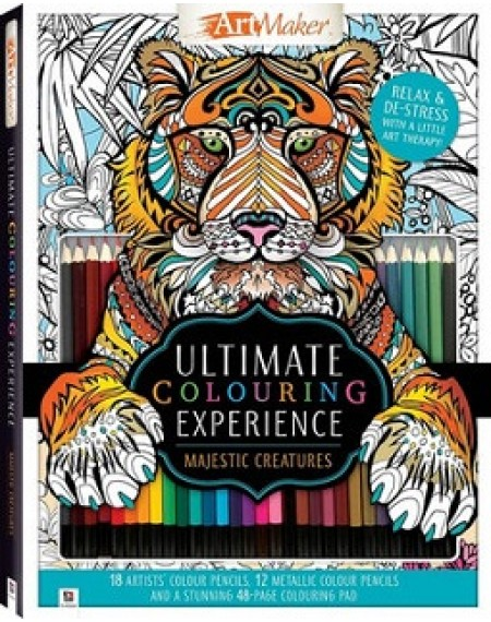 ArtMaker The Ultimate Colouring Experience Kit: Tiger