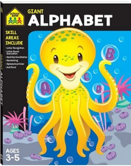 School Zone Giant Alphabet Workbook