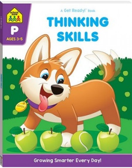 School Zone Get Ready: Thinking Skills  (2019 Ed)