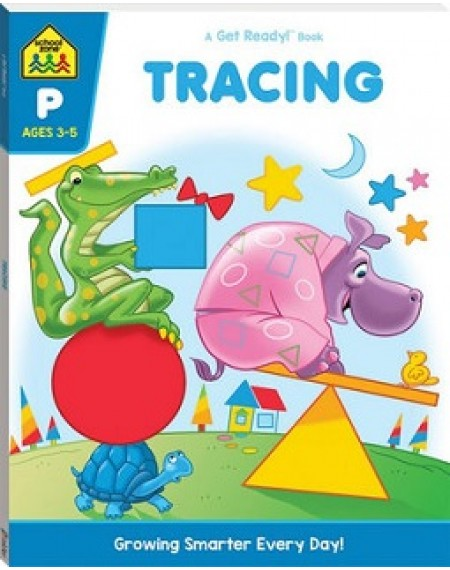 School Zone Get Ready: Tracing  (2019 Ed)