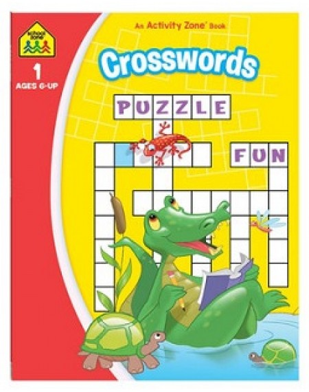 School Zone Crosswords Activity Zone Book