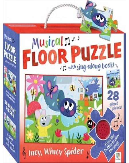 Musical Floor Puzzle: Incy Wincy Spider