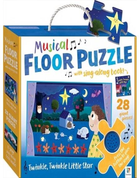 Musical Floor Puzzle: Twinkle, Twinkle Little Star