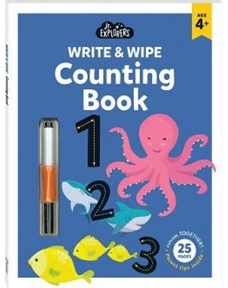 Junior Explorers Write and Wipe: Counting Book