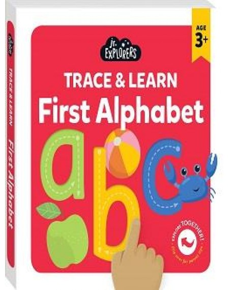 Junior Explorers : Trace & Learn First Alphabet