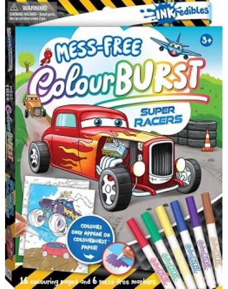 Inkdredibles : Super racers Colour Burst