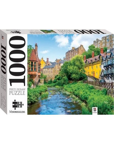1000 Piece Jigsaw Puzzles : Dean Village, Edinburdgh , Scotland