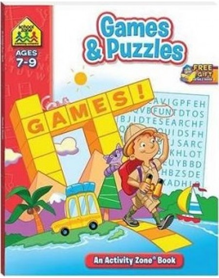 Activity Zone : Games & Puzzles ( New )