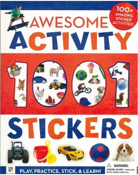 1001 Sticker Awesome Activity