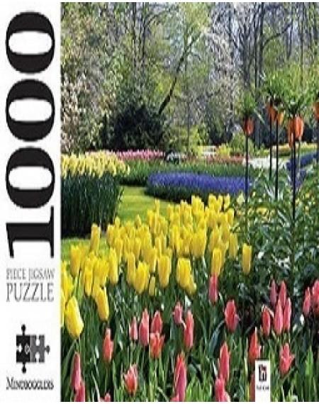 1000 Piece Jigsaw Puzzle : Keukenhof Gardens