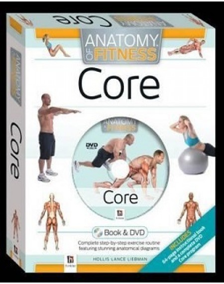 Anatomy : Core Anatomy Of Fitness Book And DVD ( PAL)