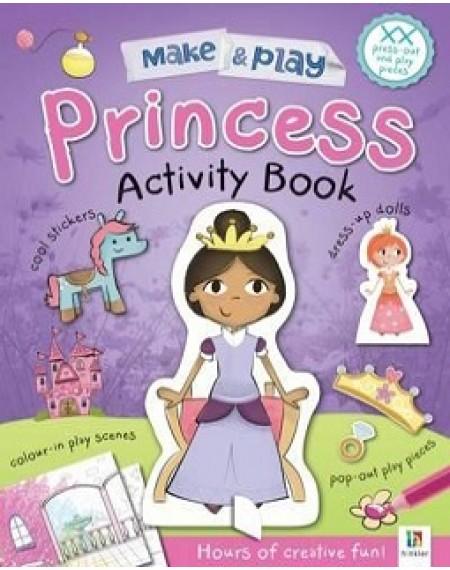 Make and Play : Princess Activity book