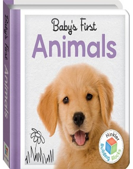 Building Blocks Baby's First Padded Board Book : Animals