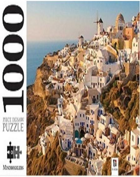 1000 Piece Puzzle : Santorini, The Greek Islands