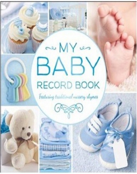 Baby Record Book ( Blue)