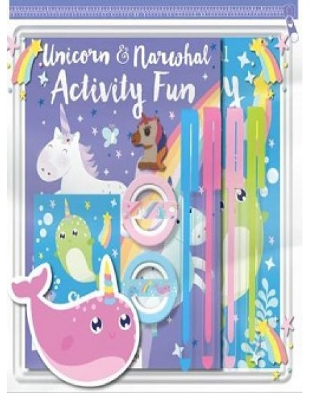 Pencil Case Pack Unicorn & Narwhal