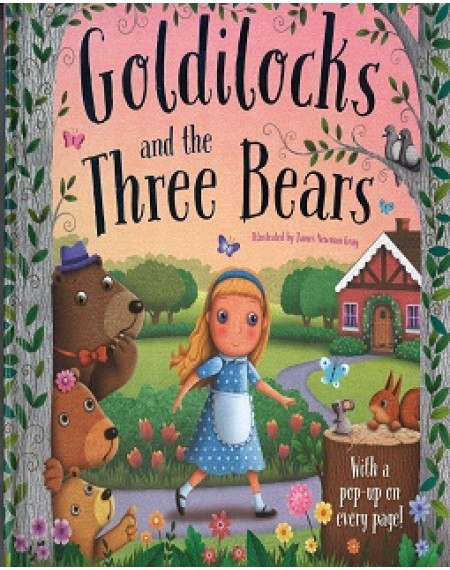 3D Pop Scenes: Goldilocks And The Three Bears