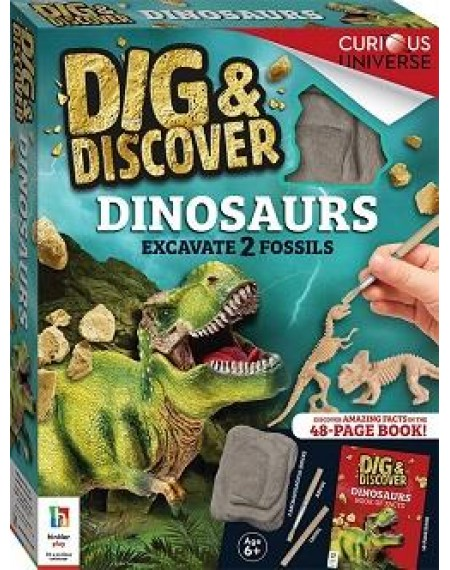 Dig & Discover : Dinosaurs